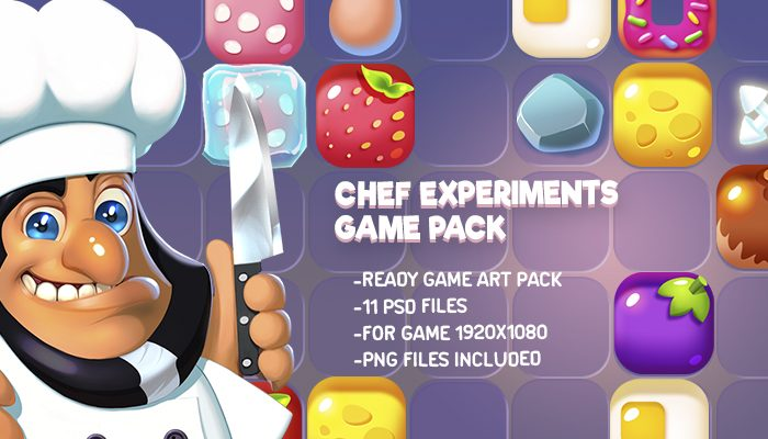 Chef's Experiments Game Kit