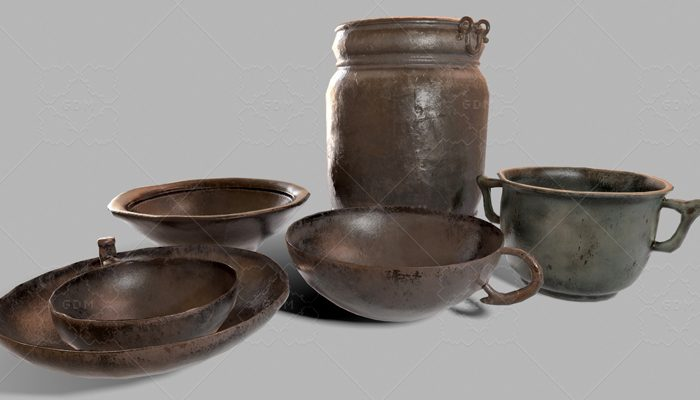 Medieval Dishes Collection