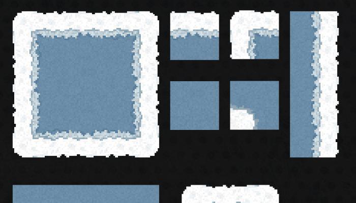 Snowy/Frosty Tilemap