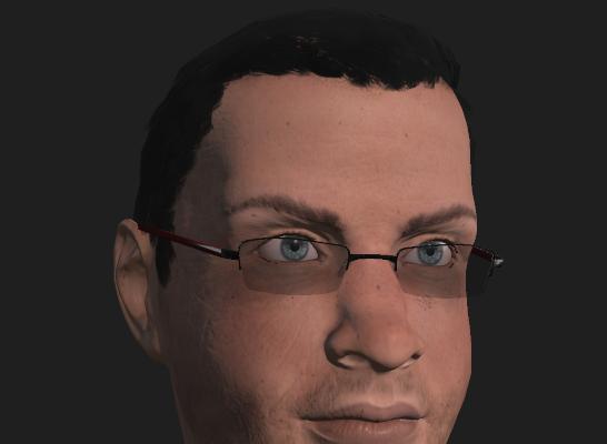 3d Civilian model