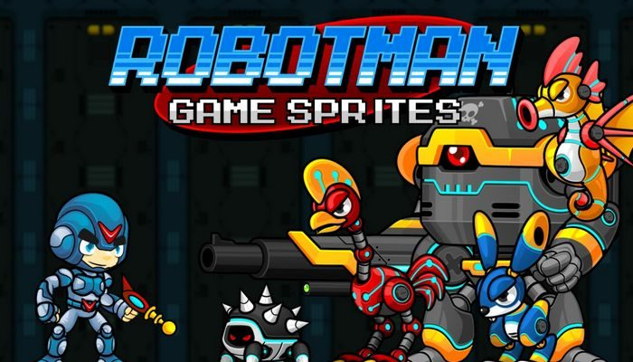 Robotman – Game Sprites