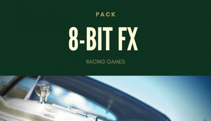 8-bit FX sounds for Racing Games
