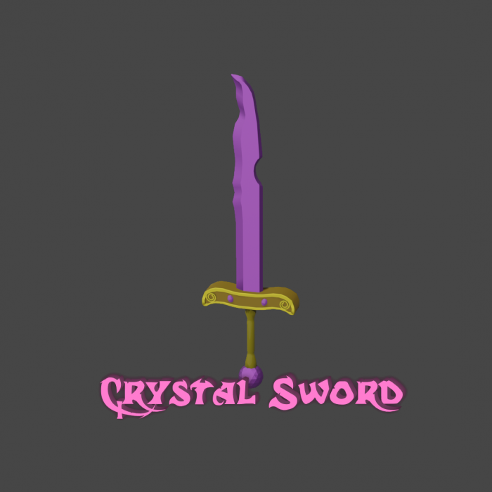 Crystal Sword – Weapon