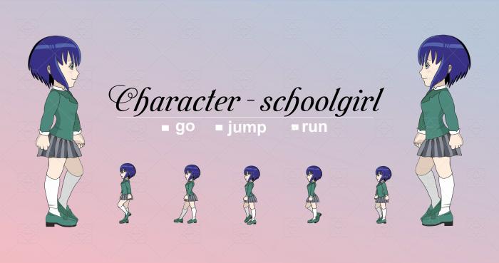 Character – schoolgirl