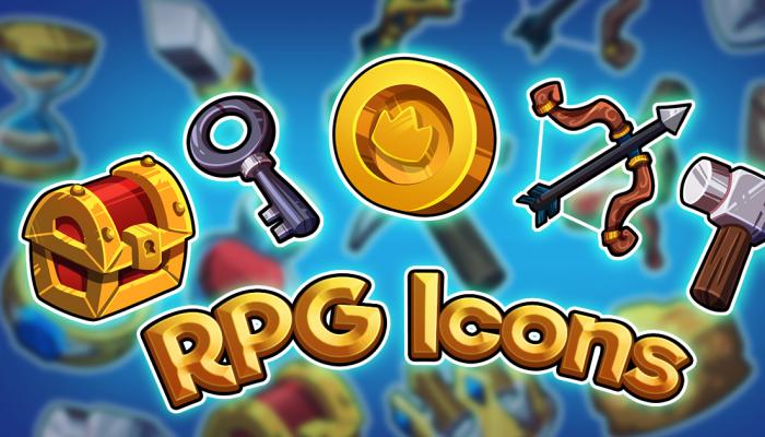 Cute RPG Icon Set