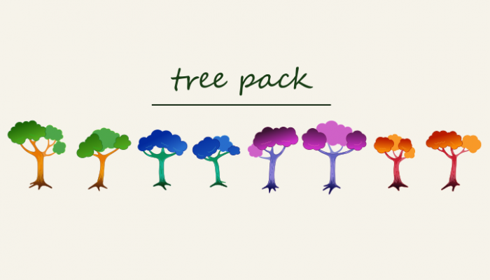 2D Tree Pack 1