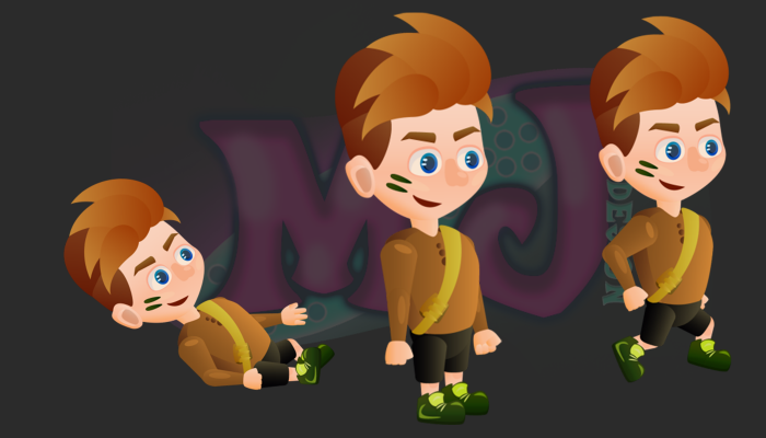 FREE 2D GAME CHARACTER 4
