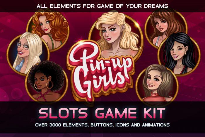 Pin-Up Girls Slots Game Kit