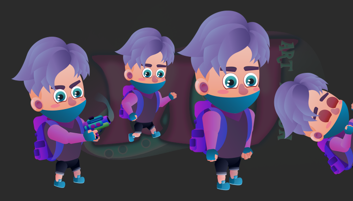 2D Game Character 3
