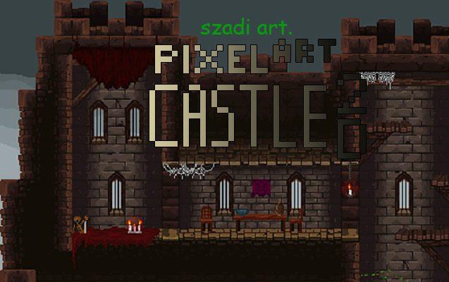 Pixel Castle 2D Platformer