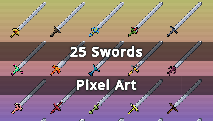 Fantasy RPG Swords