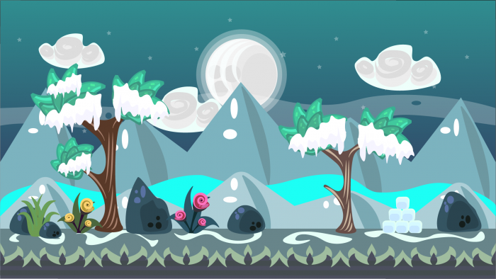 2D VECTOR GAME BACKGROUND 10