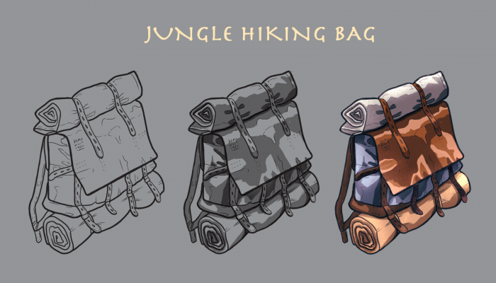 jungle hiking bag
