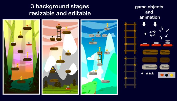 Jump game assets
