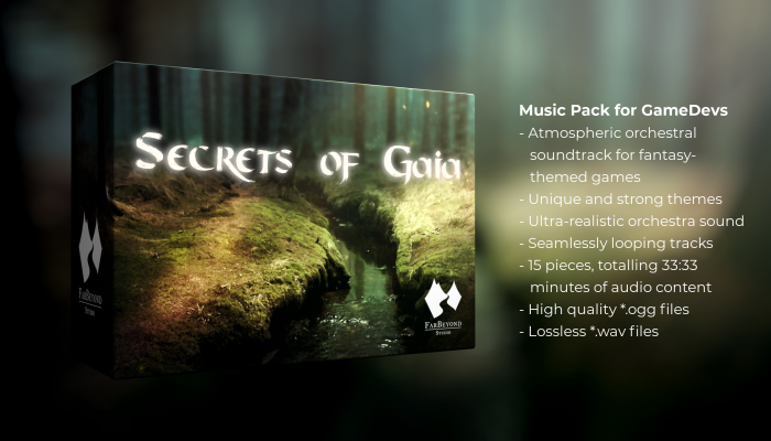 Secrets of Gaia | AAA Fantasy Music for RPG and Adventure Games