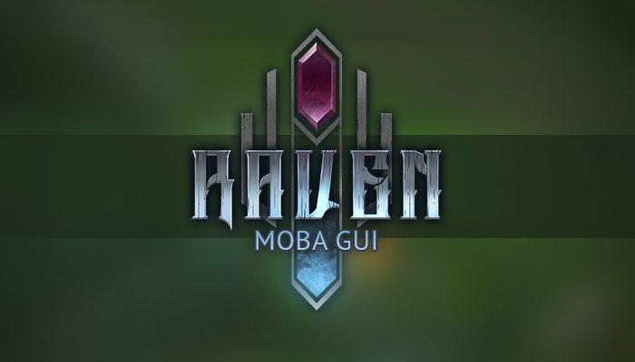 Raven – MOBA UI