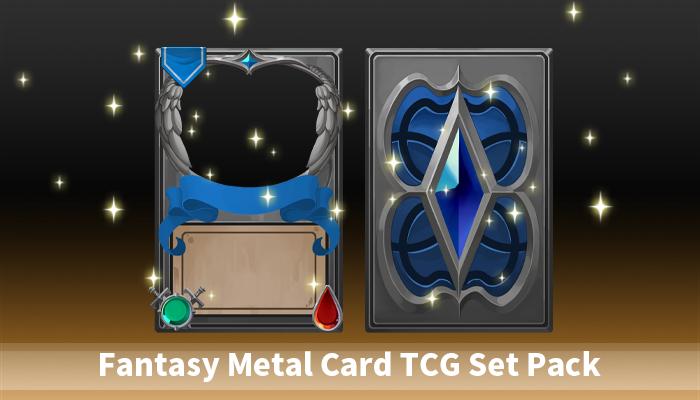 Fantasy Metal Card TCG Set Pack