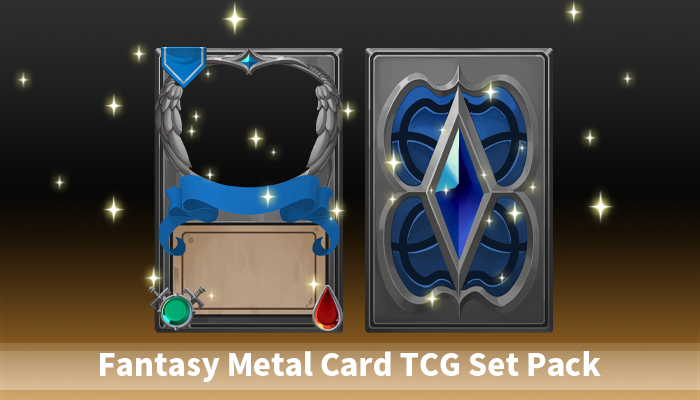 Fantasy Metal Card TCG Set Pack