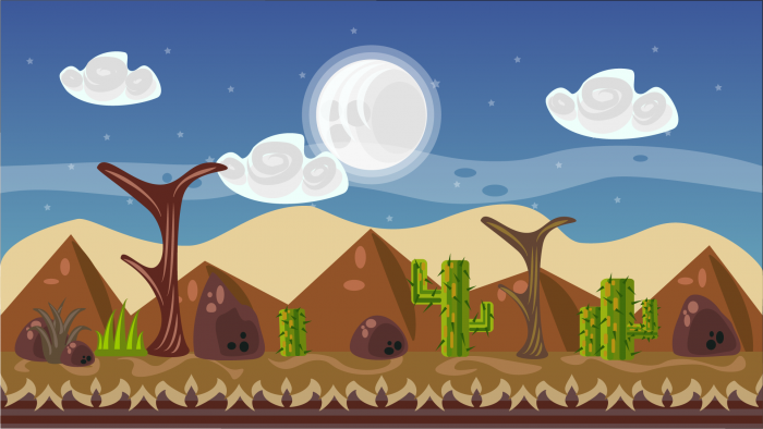 2D VECTOR GAME BACKGROUND 8