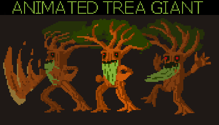 Animated Trea Giant
