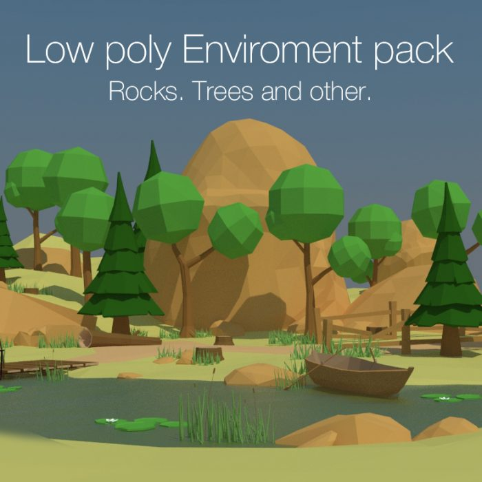 Low poly Enviroment Pack