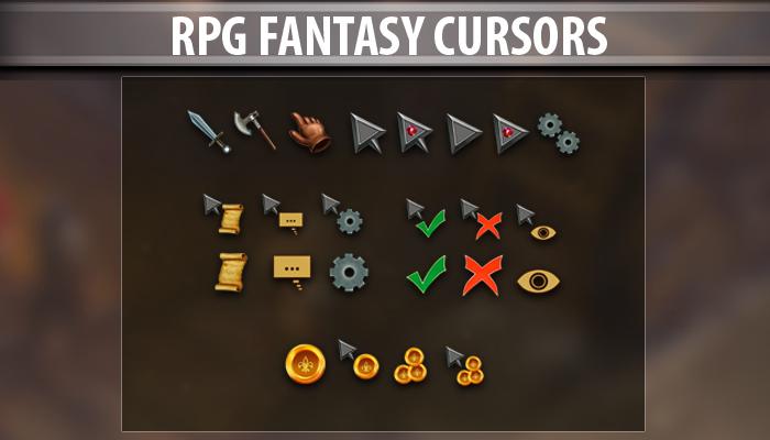 Rpg Fantasy Cursors