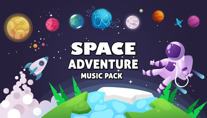 Space Adventure Music Pack