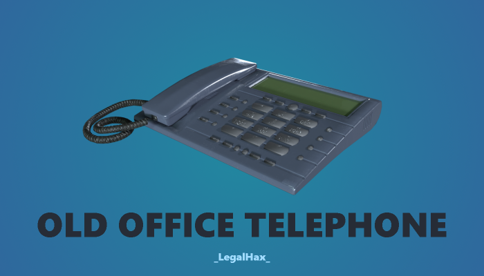 Old Office Telephone