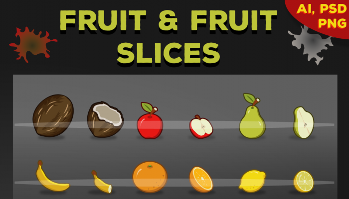 Fruit and slices