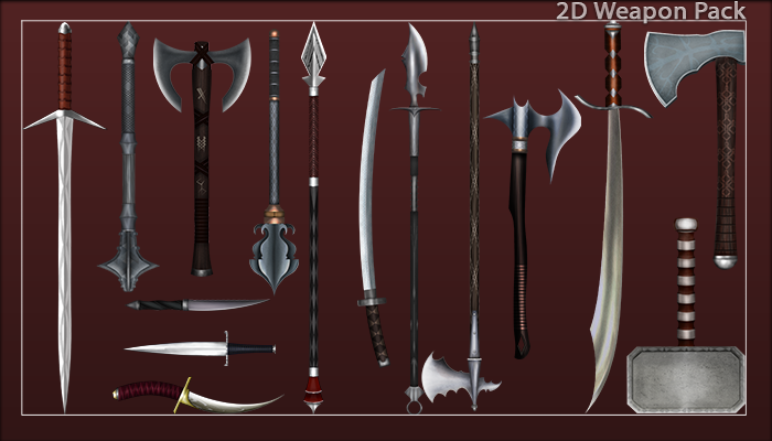 2D Weapon Pack
