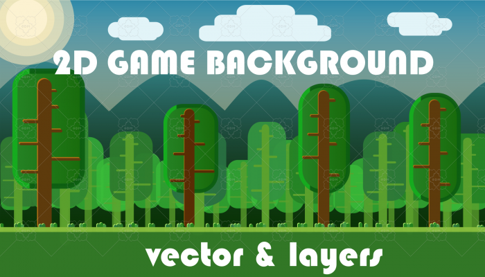 2D Game Background (free)