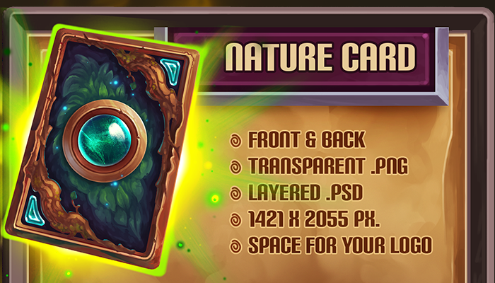 Nature Card Template