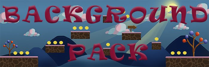 "Platformer Game Pack 2D ""Sweet Adventure"""