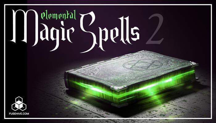 Elemental Magic Sound Effects Library Vol. 2 [Ice/Snow, Lava, Thunder Storm Lightning, Metal, Stone]
