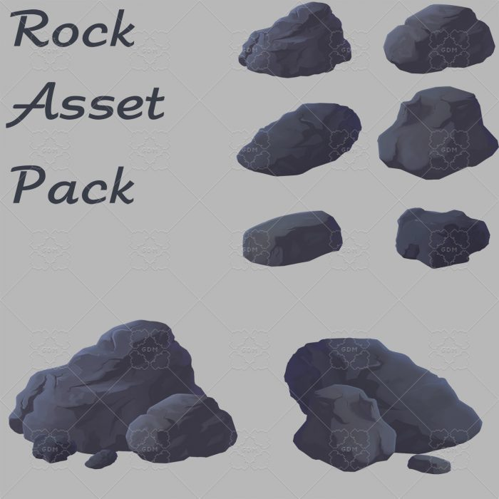 Rock asset pack