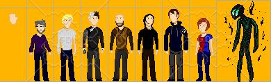 Pixel characters 3