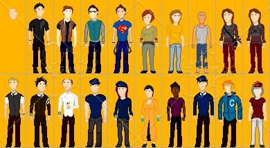 Pixel characters 2