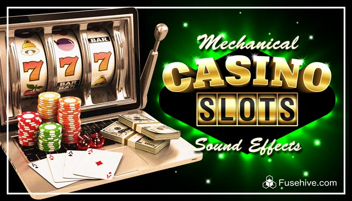 Mechanical Fruit Machine Slots Sound Effects Library – Retro Analog Slot Game Sounds & Win Tunes SFX