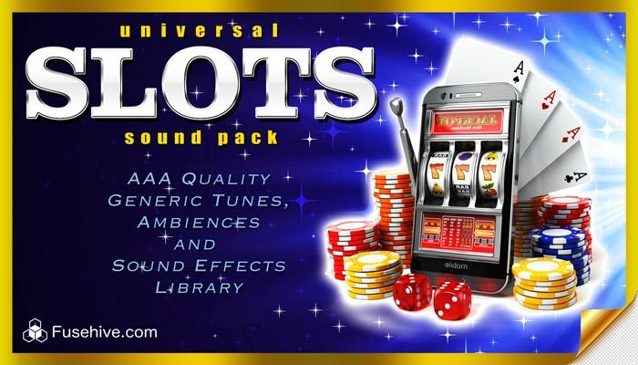Universal Slots Sound Effects Library – Modern Online Slot Game Sounds & Win Tunes, Royalty Free SFX