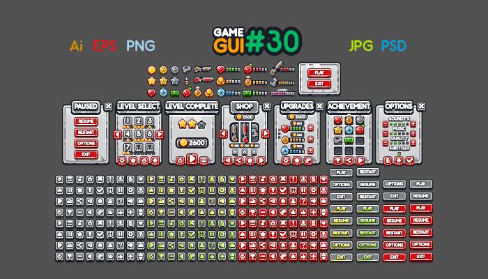 Game GUI 30