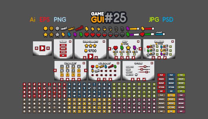 Game GUI 25
