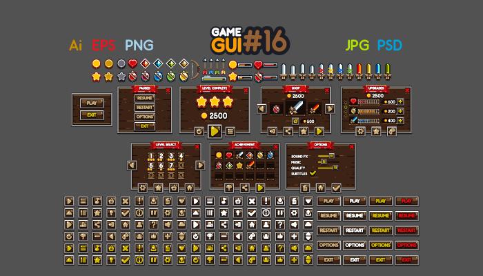Game GUI 16