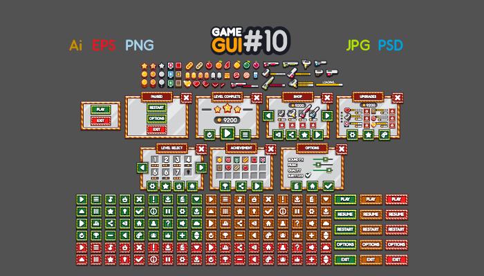 Game GUI 10