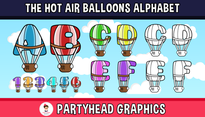 The Hot Air Balloons Alphabet