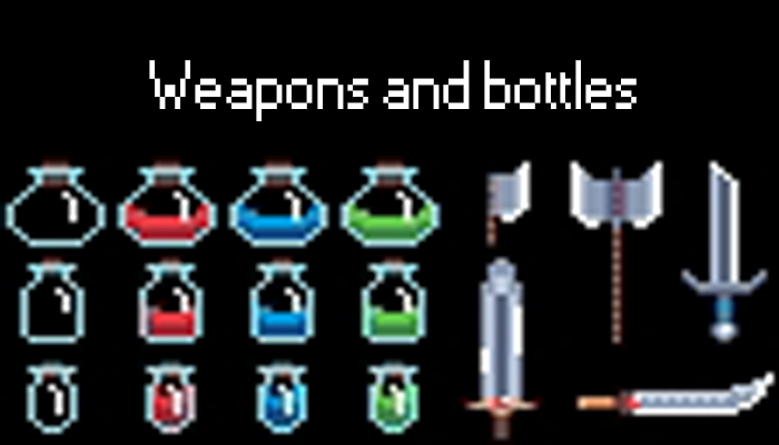 Flasks and weapons