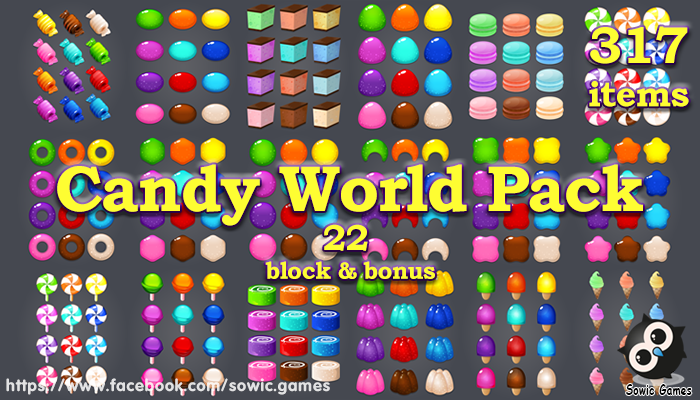 Candy World Pack