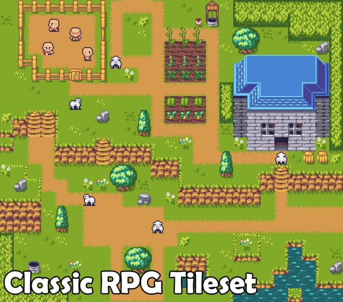 Classic RPG Tileset