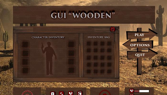GUI Wooden