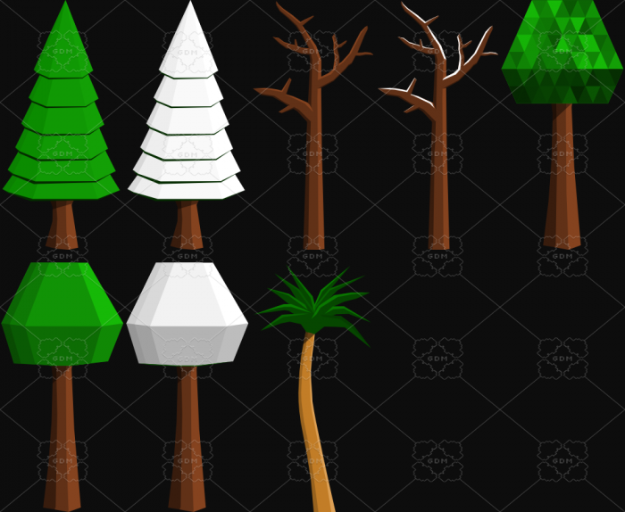 Simple vector trees