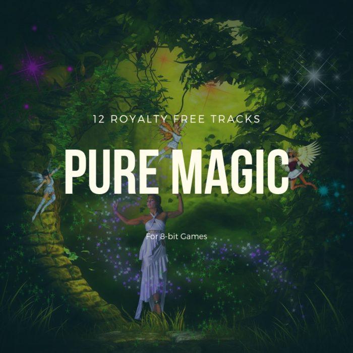 Pure 8-bit Magic (12 Royalty Free Tracks)